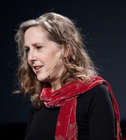 Author photo. At TED conference 2009-02-06. Photo by Bill Holsinger-Robinson.