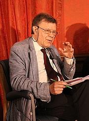 Author photo. Roger Chartier en mai 2017