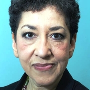 Author photo. Andrea Levy in 2010.