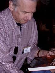 Author photo. Chet Williamson at HorrorFind September 4, 2010 photo by Nathan Filizzi (yoyogod)
