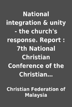 National integration & unity - the church's…