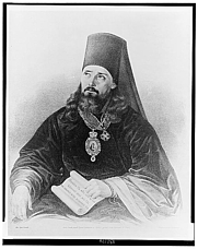 "Author photo. Innokentii, Metropolitan of Moscow, called the ""Apostle of Alaska"". (Library of Congress Prints and Photographs Division LC-USZ62-132144)"