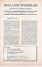 Hollands maandblad/weekblad jaargang 1…