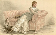 Author photo. Lady Florence Dixie, from Vanity Fair, January 5th, 1884. Wikimedia Commons.