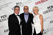 Author photo. Peter Godwin-Author and president of Pen American Centter- Dick Costolo-CEO Twitter-Joanna Coles -Editor in chief at Cosmopolitan and Pen Gala Chair at the function. © Ed Lederman/PEN American Center By PEN American Center - <a href=&quot;https://www.flickr.com/photos/penamericancenter/14108503026/&quot; rel=&quot;nofollow&quot; target=&quot;_top&quot;>https://www.flickr.com/photos/penamericancenter/14108503026/</a>, CC BY 2.0, <a href=&quot;https://commons.wikimedia.org/w/index.php?curid=33736250&quot; rel=&quot;nofollow&quot; target=&quot;_top&quot;>https://commons.wikimedia.org/w/index.php?curid=33736250</a>