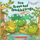 Five Green and Speckled Frogs by Constanza…