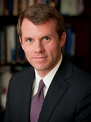 Author photo. Nathaniel Fick: Chief Executive Officer of Center for a New American Security