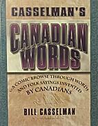 Casselman's Canadian words: A comic…
