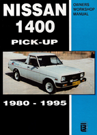 nissan 1400 pick up 1980 1995 owners workshop manual by anonymous rh librarything com nissan 1400 workshop manual free pdf nissan 1400 workshop manual pdf