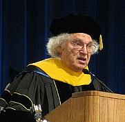 Author photo. Herbert Hauptman. Photo by Dave Pape.