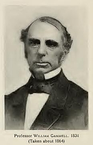 Author photo. William Gammell (1864). From page 222 of Memories of Brown; traditions and recollections gathered from many sources (1909)