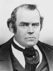 Author photo. Photo of Parley P. Pratt, a leader in the Latter Day Saint movement and one of the original members of the Quorum of the Twelve Apostles.
