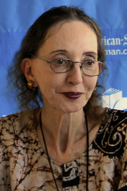 Author photo. Joyce Carol Oates at the 2014 Texas Book Festival, Austin Texas, United States. / Larry D. Moore