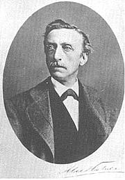 Author photo. Eduard Douwes Dekker, aka Mutatuli