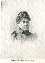 Author photo. Emma Elizabeth Brown (b.1847) Buffalo Electrotype and Engraving Co., Buffalo, N.Y.
