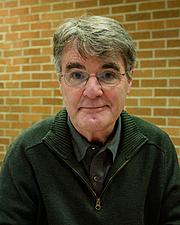 Author photo. Wikipedia: David Macaulay at the Mazza Museum 2012 Fall Conference where he received the Mazza Medallion.