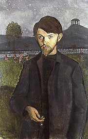 Author photo. Self portrait, 1908