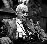 Author photo. Roman Vishniac, 1977. Photo by Andrew A. Skolnick