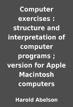 Computer exercises : structure and…