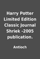 Harry Potter Limited Edition Classic Journal…