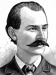 Author photo. Image from <b><i>Life of Albert R. Parsons, with brief history of the labor movement in America</i></b> (1889) by Lucy E. Parsons