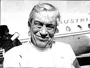 Author photo. John Huston (22 June 1968) / Photo © <a href=&quot;http://www.bildarchivaustria.at&quot;>ÖNB/Wien</a>