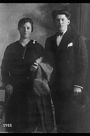 Author photo. Giovanni Previtali and his wife Caterina Masnada in 1918