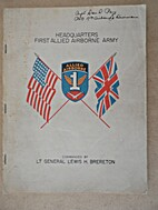 Headquarters, First Allied Airborne Army