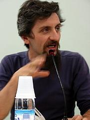 Author photo. Fiera del Libro di Torino 2007, by Antonella Beccaria