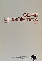 Série Lingüística no. 5 1976