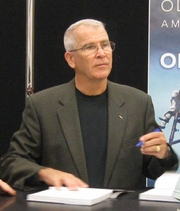 Author photo. Photo from book signing at Fort Leonard Wood, Missouri on November 10, 2010