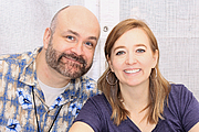 """Author photo. Shannon and Dean Hale at the 2016 Texas Book Festival. By Larry D. Moore, CC BY-SA 4.0, <a href=""""https://commons.wikimedia.org/w/index.php?curid=53088534"""" rel=""""nofollow"""" target=""""_top"""">https://commons.wikimedia.org/w/index.php?curid=53088534</a>"""
