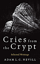 Cries from the Crypt by Adam Nevill