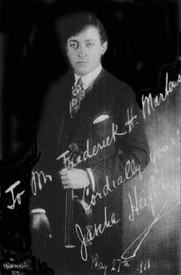 Author photo. Violin Mastery, Talks with Master Violinists and Teachers (Frederick Martens, 1919)