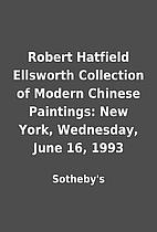 Robert Hatfield Ellsworth Collection of…