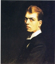 Author photo. Self Portrait, 1906