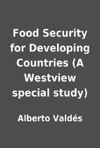 Food Security for Developing Countries (A…