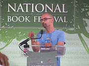 "Author photo. Junot Díaz at the 2012 National Book Festival By Slowking4 - Own work, GFDL 1.2, <a href=""https://commons.wikimedia.org/w/index.php?curid=21582075"" rel=""nofollow"" target=""_top"">https://commons.wikimedia.org/w/index.php?curid=21582075</a>"