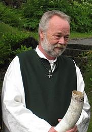 Author photo. Hilmar Örn Hilmarsson