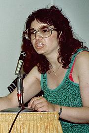 Author photo. Women in Comics panel, San Diego Comic-Con 1982, photo by Alan Light
