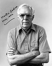 Author photo. Martin Gardner, Mathematician