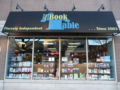 the book table in oak park il librarything local. Black Bedroom Furniture Sets. Home Design Ideas