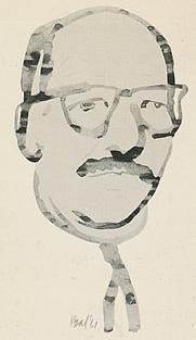 Author photo. Book cover (1976)