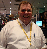 Author photo. GAMA booth at Book Expo America 2007, photo by Lampbane