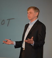Author photo. Dr. John Kotter of Harvard Business School by Keiradog