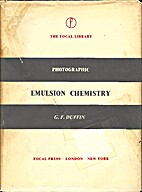 Photographic emulsion chemistry, (The Focal…