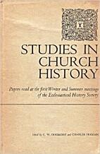 Studies in Church History, Volume III;…