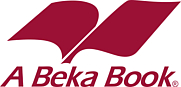 Author photo. A Beka Books logo