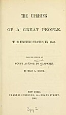 THE UPRISING OF A GREAT PEOPLE. The United…