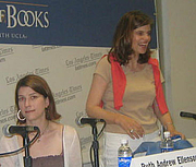 "Author photo. Ruth Ellenson (left) with Caitlin Flanagan <br>at the 2007 LA Times Festival of Books <br>  Copyright © 2007 <a href=""http://ronhogan.tumblr.com"">Ron Hogan</a>"